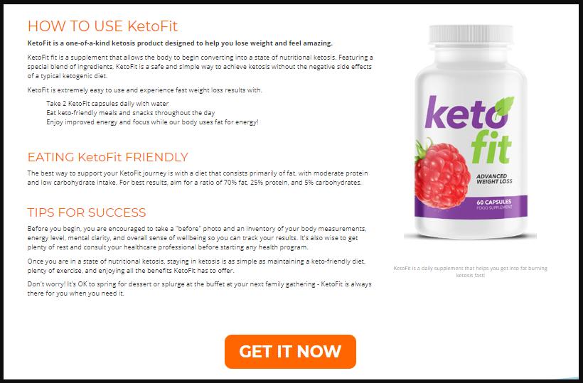 ketofit diet