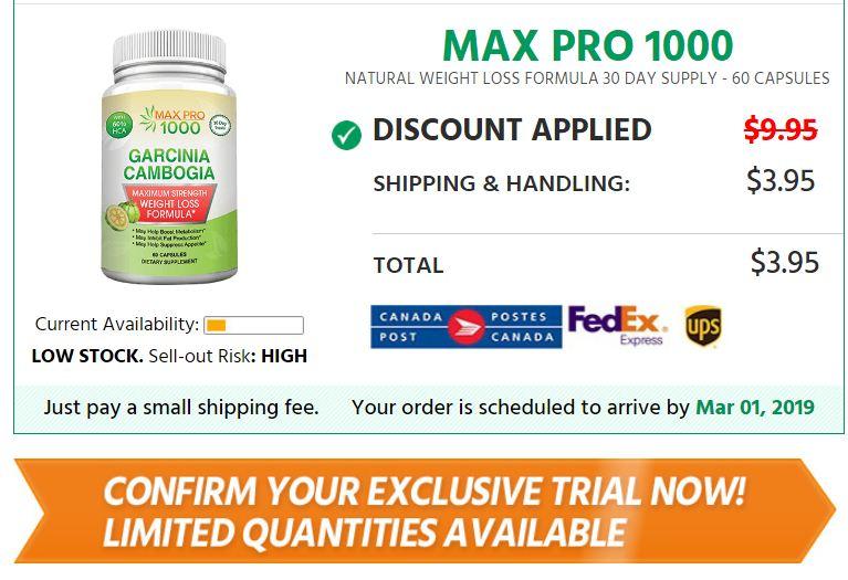 max pro 1000